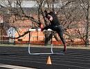 Kapella Posts Qualifying NCCAA Jump in First Meet