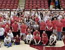 Bobcats and Cheer Team Host Champion Athletes