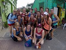 Lady Bobcat Volleyball Team Serves in Belize