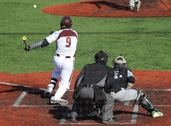 Kolton Giefer at the plate.
