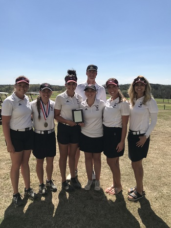 Lady Bobcat Golf Team -- 2nd Place