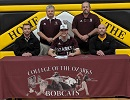 Bobcat Baseball Signs Van Buren Bulldog Steven Simmons