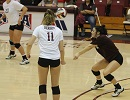 Lady Bobcats Sweep as Stallings Sets New School Record