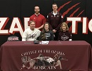 Hannah Aherin Signs to Play 2018-2019 Lady Cat Golf