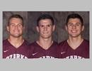 Carmichael, Cody & Davidson Named Scholar Athletes