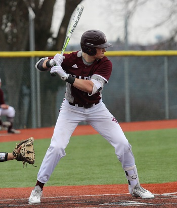 Max Pulley at the plate