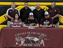 Michael White of VanBuren HS Signs with Cats