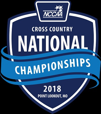 Logo for NCCAA Cross Country Championships 2018