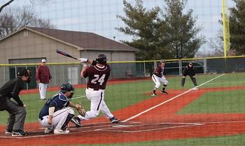 CofO J.D. Payne batting