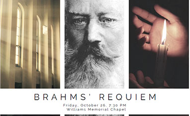 Chorale and Orchestra at C of O to perform Brahms