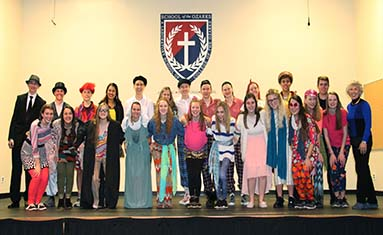 S of O students participated in Shakespearean Workshop