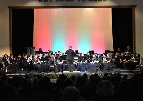Concert Band to perform at C of O on Friday, May 3.