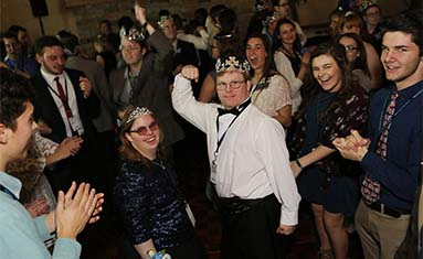 Special guests dance the night away at Nigh to Shine prom-type event
