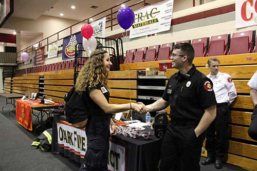 Ozark Fire Protection District attends 2019 Career Expo.