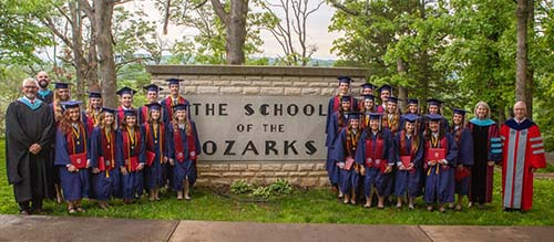 23 S of O students graduate.