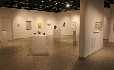 The art gallery at College of the Ozarks