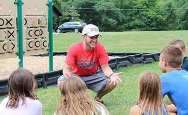 College of the Ozarks hosts Camp Lookout for local children.
