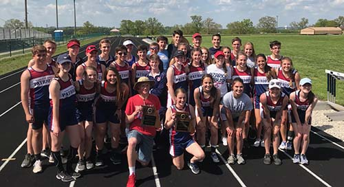 The School of the Ozarks track teams both placed first in the Class 1, District 3 Track and Field Meet.