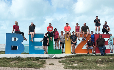 Choir at College of the Ozarks travels to Belize.