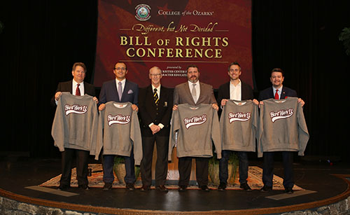 Special guests speak at the Bill of Rights Conference