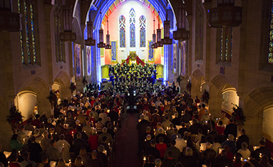 C of O Singers and musicians to provide Christmas Card to the Community, Dec. 8 - 9