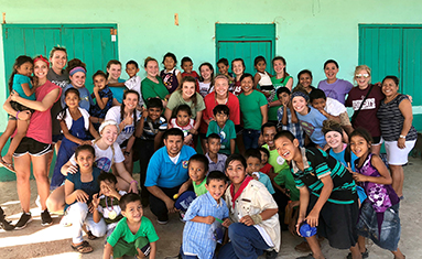 C of O Lady Bobcats Volleyball traveled to Belize on mission trip