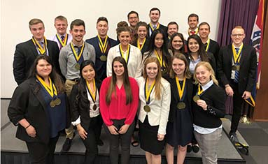 C of O competes at Phi Beta Lambda state conference