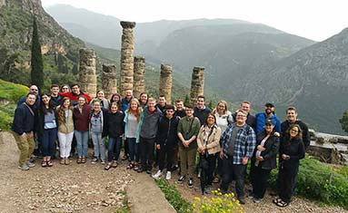 S of O seniors visit Greece and Italy, March 15 - 25,2018.