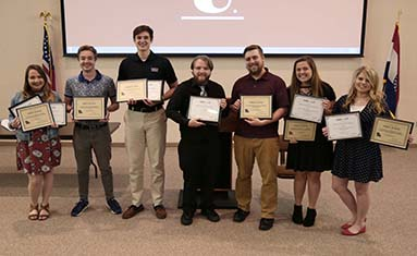 C of O students receive awards from prestigious journalism associations.