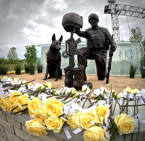 The Global War on Terrorism Memorial.