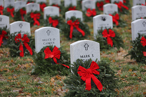 C of O sends group to lay wreaths at Veterans Cemetery in Springfield, Missouri.