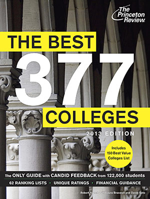 Princeton Review Best 377 Colleges