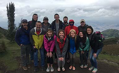 C of O students, faculty and staff visit Ecuador