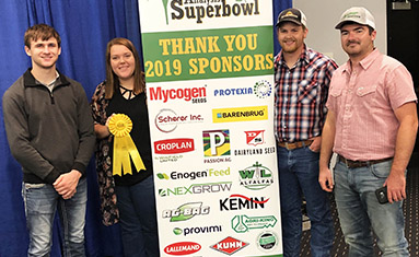 C of O earns top honors at World Forage Superbowl