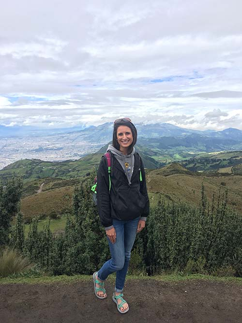 Naomi Ellis said she learned a great deal being immersed in the culture of Ecuador for 10 days.