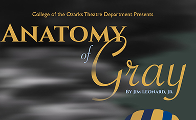 Anatomy of Gray theatre production presented by College of the Ozarks