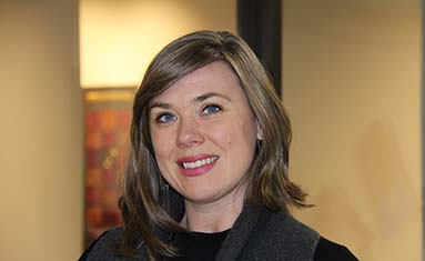 Michelle Wingard, guest artist, spoke at College of the Ozarks on Jan. 22 during a cultural convocation.