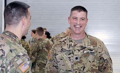 C of O military science professor promoted to commander of the 1107th Aviation Group