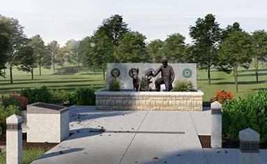 The Global War on Terrorism Memorial Dedication at College of the Ozarks April 24