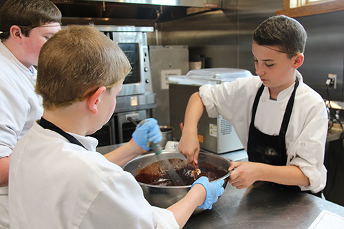 11th annual Culinary Day Camp held at The Keeter Center