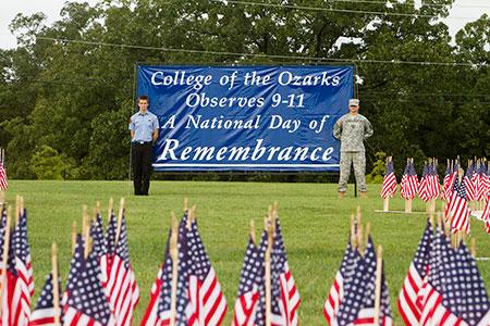 9-11 Flag Memorial