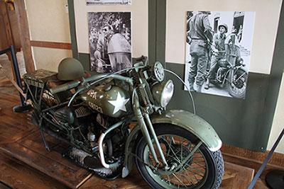 1942 Harley-Davidson WLA motorcycle
