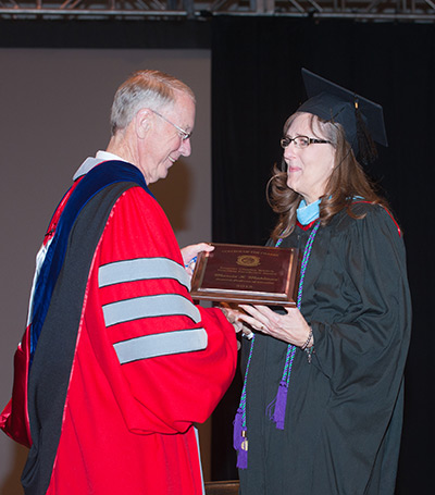 C of O Education Professor Marcia Mahlman Recieves Teaching Excellence Award