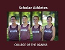 Four Cross Country Runners Named Scholar Athletes