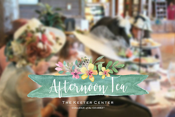 Elegant Afternoon Tea at The Keeter Center