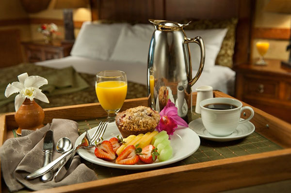 A meal tray with 