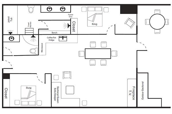 Presidential Floor Plan