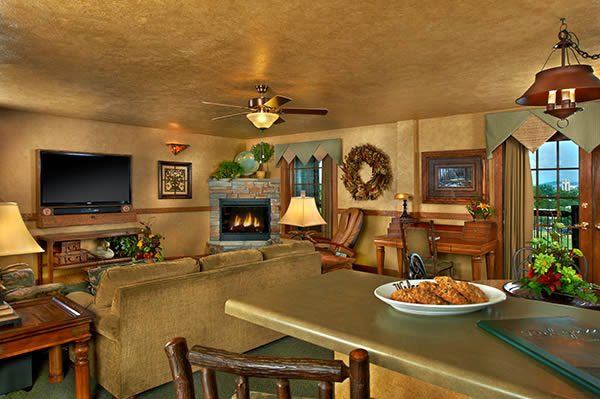 The Presidential Suite Living Area