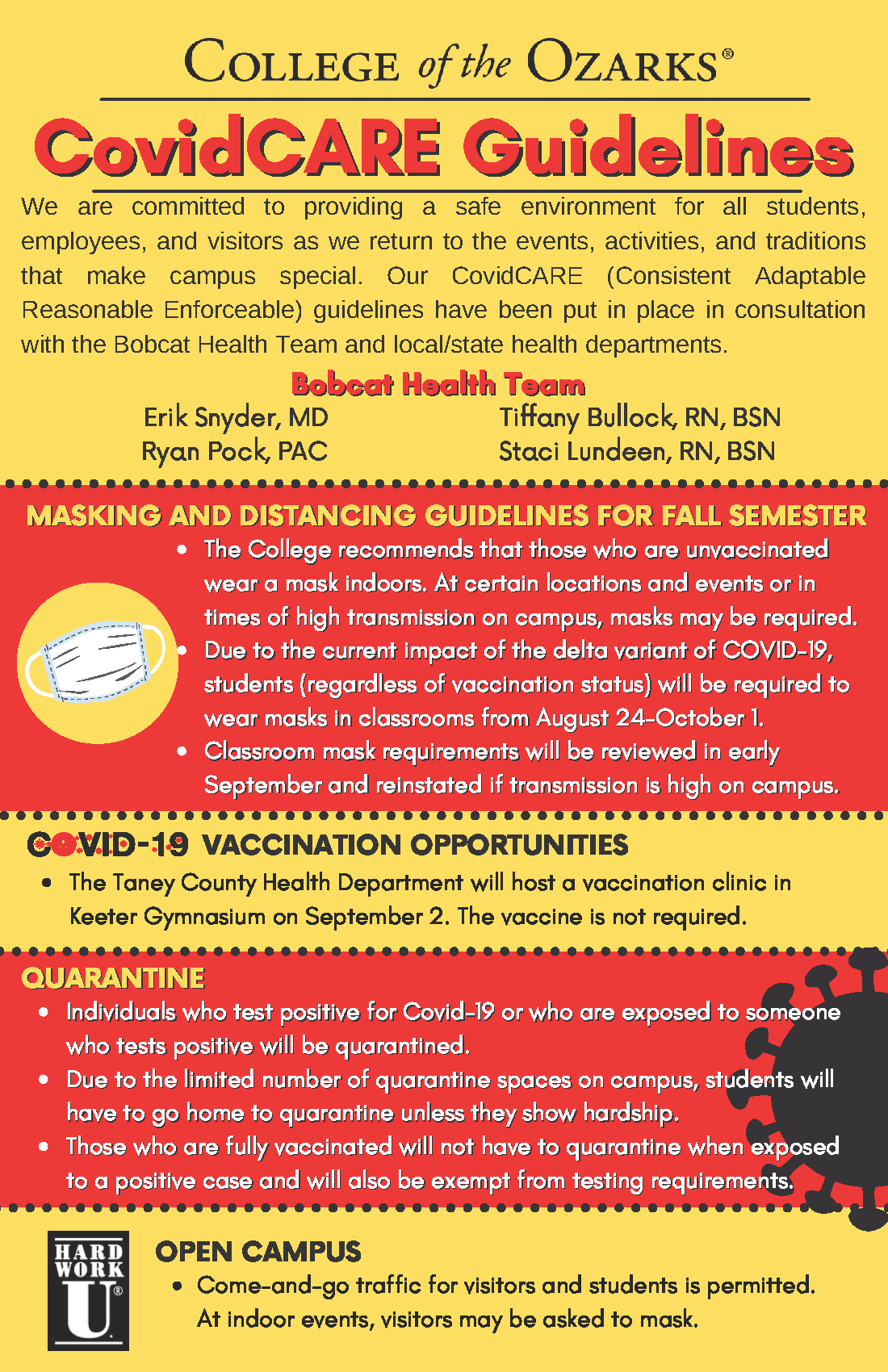 C of O CovidCARE Guidelines