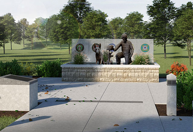 Global War on Terrorism Memorial at Patriots Park on the College of the Ozarks campus